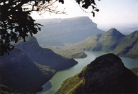 Blyde rivier Canyon Zuid-Afrika
