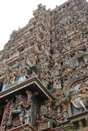 Shree Meenakshi-tempel Madurai India Djoser