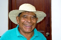 Costa Rica man smile Djoser