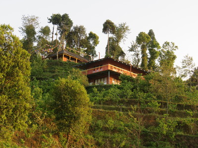 Nagarkot Hotel Farmhouse accommodatie overnachting Djoser