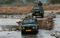 India - Corbett nationaal park jeeps (internet)