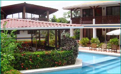 Costa Rica Panama overnachting accommodatie Djoser hotel