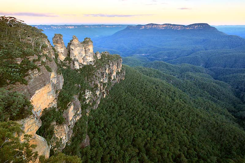 Blue Mountains Australie Djoser